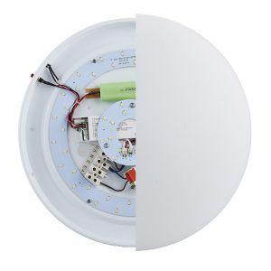 L2U-7350 24w LED Emergency Ceiling Light with Optional Sensor