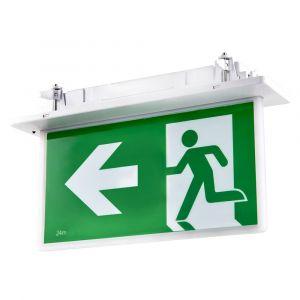 L2U-7352 Recessed LED Emergency Exit Sign Light