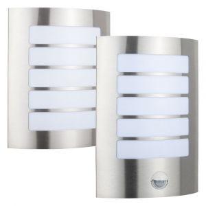 L2-7212 Exterior LED Wall Light with Optional Sensor