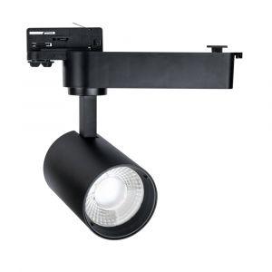 L2-3134 30w Three Phase LED Track Light - Black