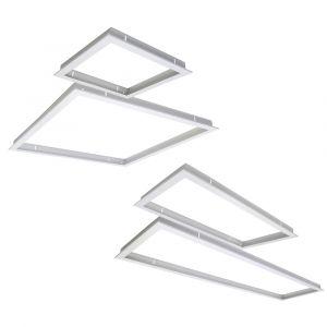 White Recessed Panel Frame Range from