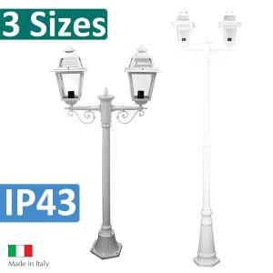 L2U-4355 Double Head Post Light from