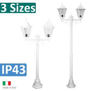 L2U-4373 Turin Double Head Post Light from