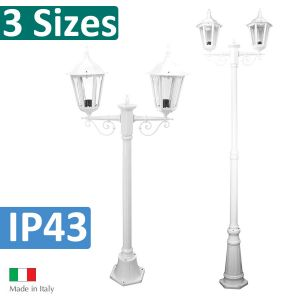 L2U-4333 Chester Traditional Double Head Post Light Range