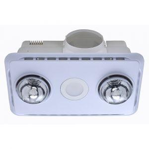 L2U-1100 3in1 Bathroom 2 Heat, LED Light and Exhaust Fan