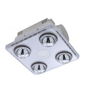 L2U-1101 3in1 Bathroom 4 Heat, LED Light and Exhaust Fan