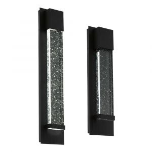 L2-6189 Black Exterior LED Wall Light Range