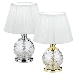 L2-5177 Clear Glass Table Lamps