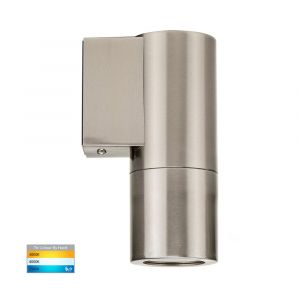 L2U-427 Stainless Steel Fixed Single 240v Wall Pillar Light